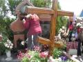 Поклоняемся крестикам и могилкам о. Николая и матушки Юлии