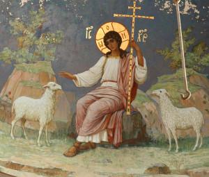 Абхазия Новоафонский монастырь, роспись Симоно-кананитского монастыря.