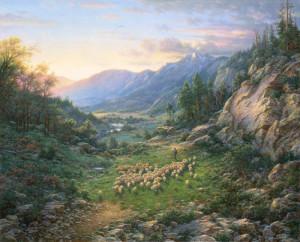 Добрый пастырь Лари Дайк