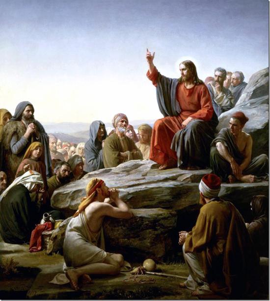 Нагорная проповедь Карл Блох 1890