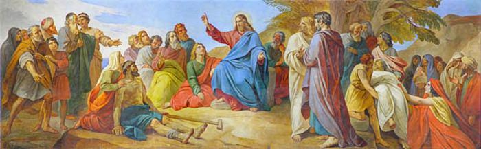 П.В. Басин. 1793-1877 Нагорная проповедь.