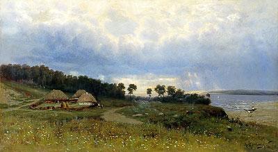 Крыжицкий-Константин-Яковлевич---Перед-дождём...