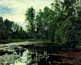 Серов-Валентин-Александрович-1865-1911-Заросший-пруд